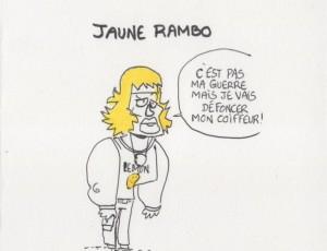 Mickael Roux. Jaune Rambo