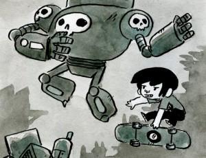 Mickael Roux. Robot 2