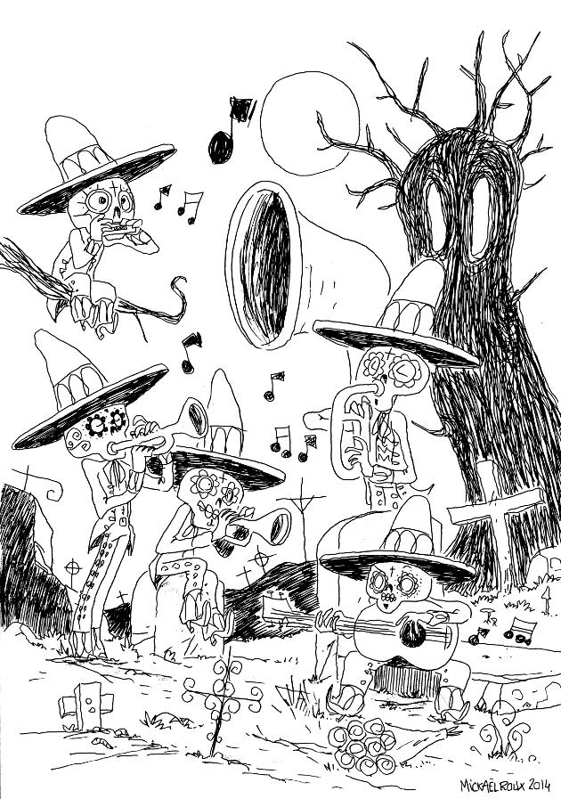 le carnaval des morts