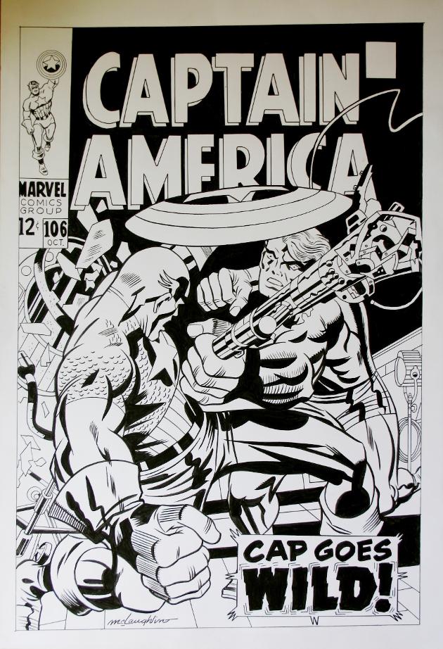 Captain America Wild redim